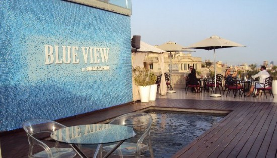 39ymas blog archive terraza blue view by bombay - Hotel casa fuster terraza ...