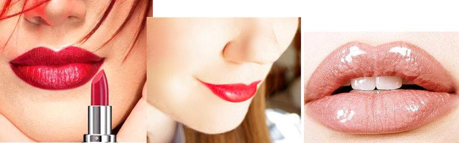 Maquillar diferentes tipos de labios - Grandes, pequeños, finos...