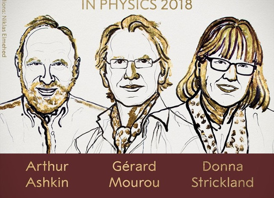 Donna Theo Strickland-nobel fisica 2018