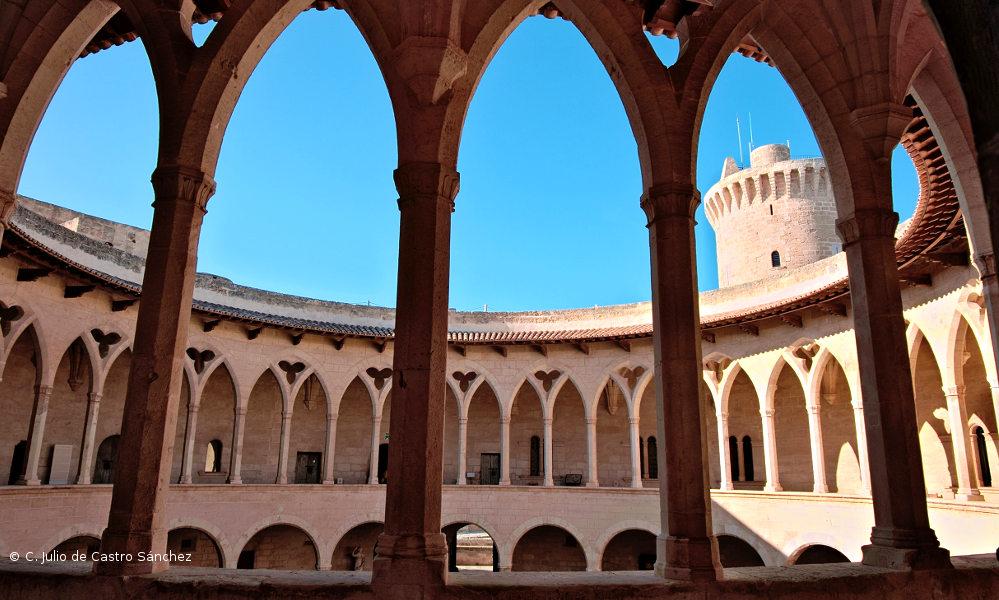 El Castillo de Bellver de Palma de Mallorca
