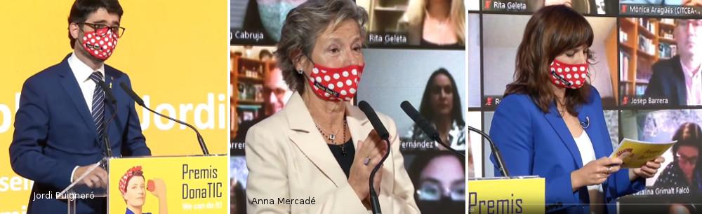 Premios 'Dona TIC 2020' – Ocho mujeres galardonadas